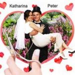 Hochzeitsherz Leintuch