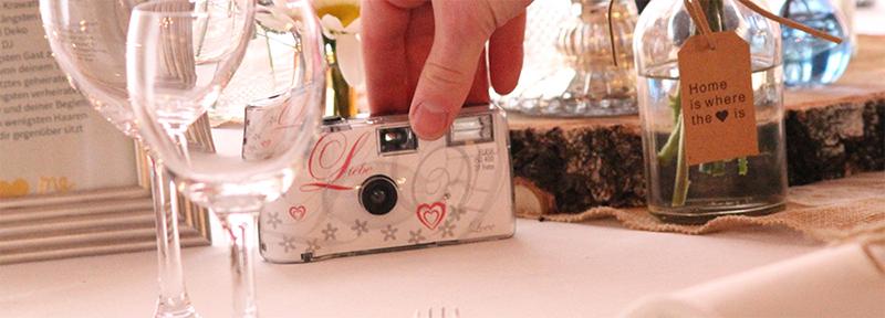 Kamera für Gäste Hochzeit